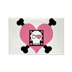 Carleigh's Pirate Rectangle Magnet