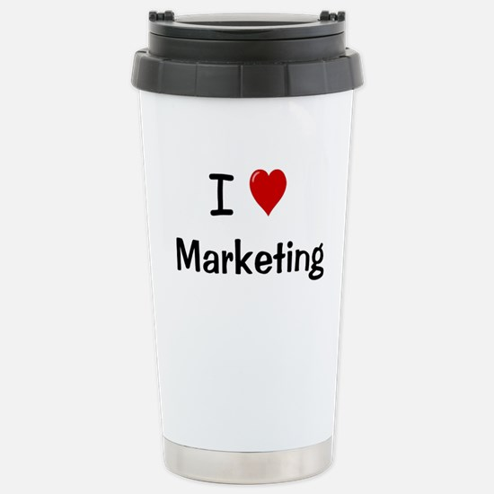 I Love Marketing Office Mugs