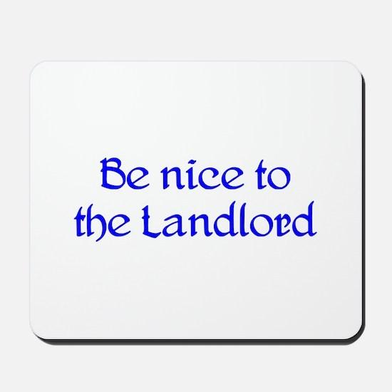Landlord Mousepad