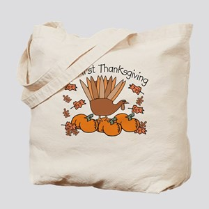 First Thanksgiving Turkey Tote Bag