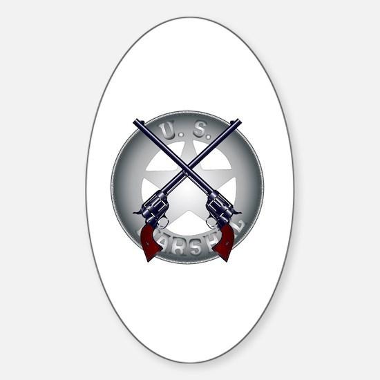 Cute Wyatt earp Sticker (Oval)