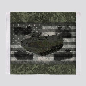 Amphibious Marine Fighting Vehicle Green Camo Amer