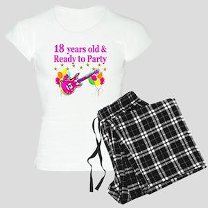 18TH BIRTHDAY Women's Light Pajamas