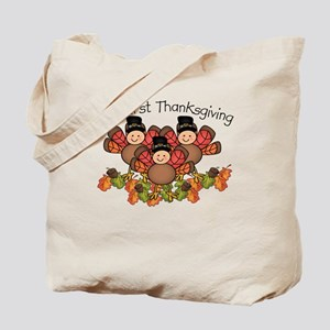 First Thanksgiving Baby Tote Bag