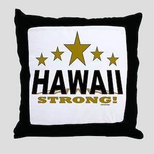 Hawaii Strong! Throw Pillow