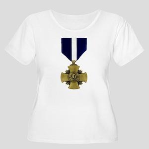 Navy Cross Women's Plus Size Scoop Neck T-Shirt