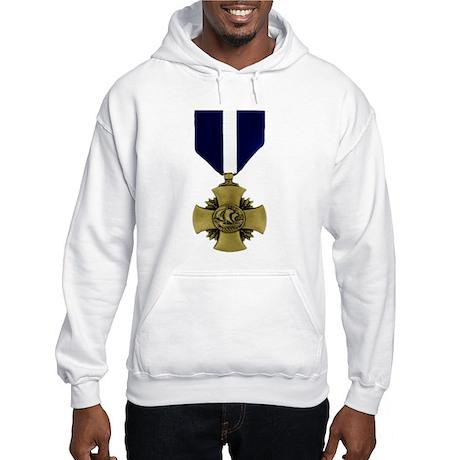 Navy Cross Hooded Sweatshirt
