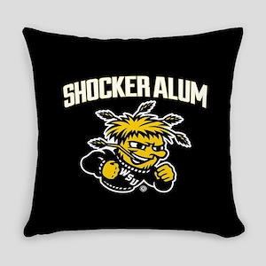 Wichita State Shocker Alum Everyday Pillow