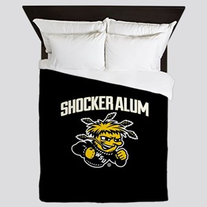 Wichita State Shocker Alum Queen Duvet