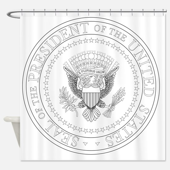 Funny President Shower Curtain