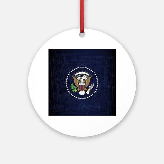Cute Government Round Ornament