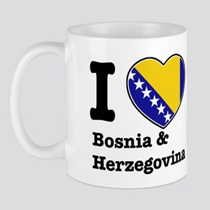 I love Bosnia and Herzegovina Mug