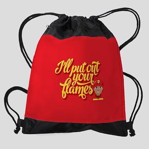 Emoji I'll Put Out Your Flames Drawstring Bag