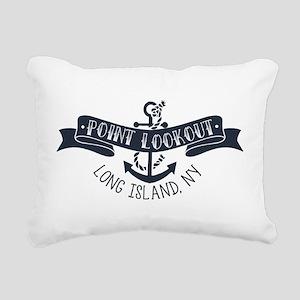 PT LOOKOUT BANNER Rectangular Canvas Pillow
