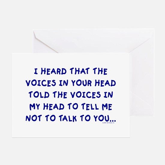 Voices Greeting Cards
