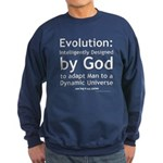Evolution/god Sweatshirt (dark)