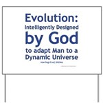 Evolution/God Yard Sign