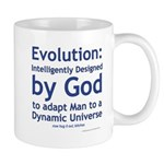 Evolution/God Mug