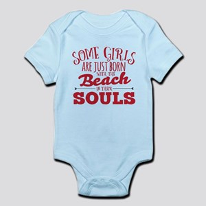 Girls are Beach Souls Body Suit