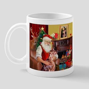 Santa's Irish Setter Mug