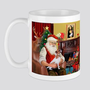 Santa's Jack Russell Mug