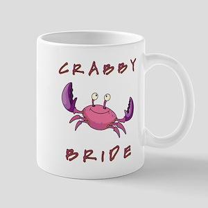 CRABBY BRIDE Mugs