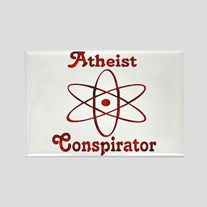 Atheist Conspirator Rectangle Magnet