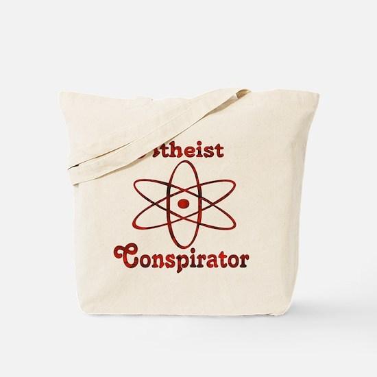 Atheist Conspirator Tote Bag