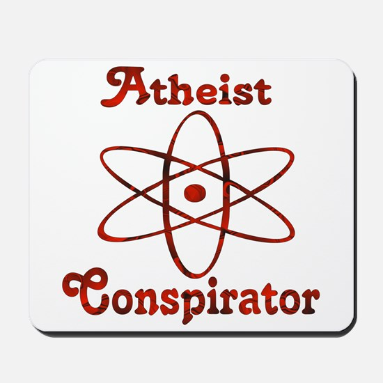 Atheist Conspirator Mousepad