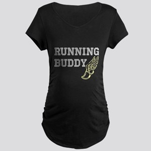 RUNNING BUDDY Maternity T-Shirt