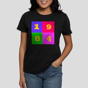 1984 Years Designs Women's Dark T-Shirt