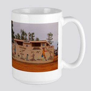 Outback toilet block, Australia Mugs