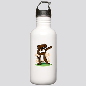 Dabbing Boxer Dog Stainless Water Bottle 1.0L