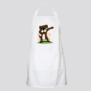 Dabbing Boxer Dog Light Apron
