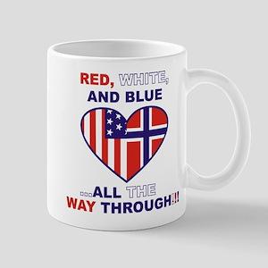 Flag heart Mug