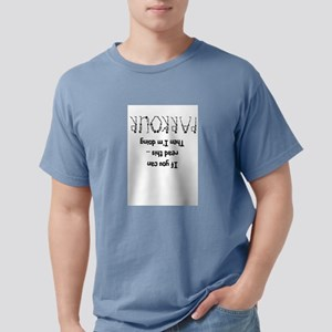 funny parkour slogan T-Shirt