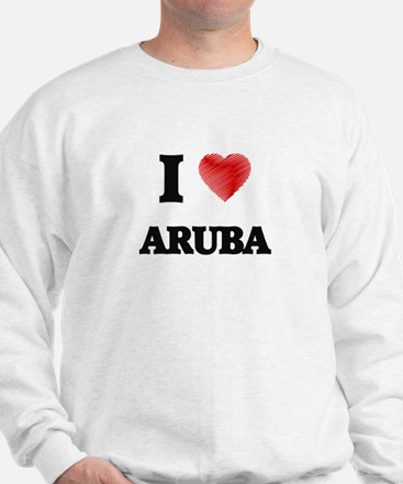 I Love Aruba Sweatshirt