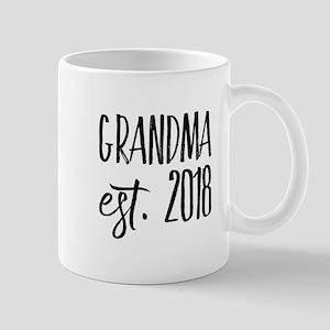 Grandma Est 2018 Mugs