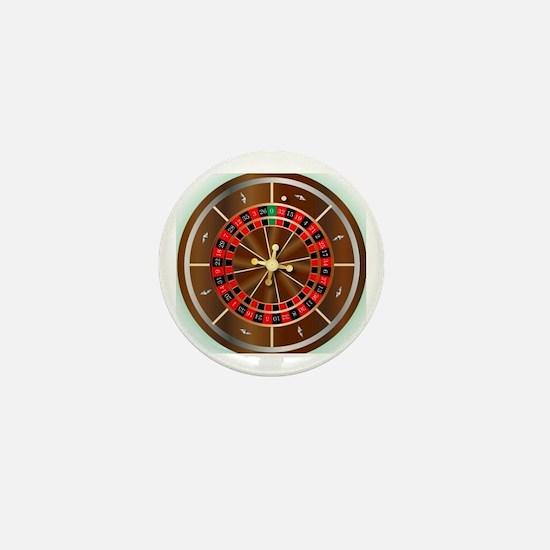 Cute Roulette Mini Button
