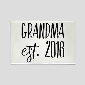 Grandma Est 2018 Magnets