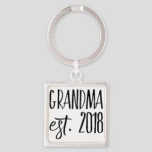 Grandma Est 2018 Keychains