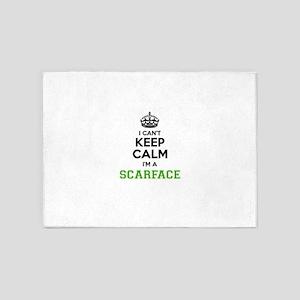 Scarface I Cant Keeep Calm 5 X7 Area Rug