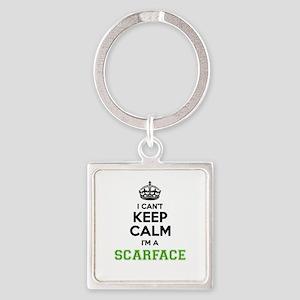 Scarface I cant keeep calm Keychains