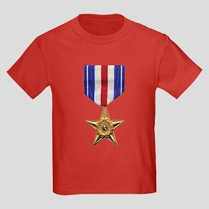 Silver Star Kids Dark T-Shirt