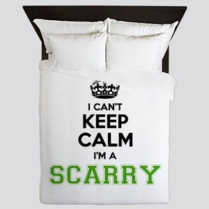 Scarry I cant keeep calm Queen Duvet