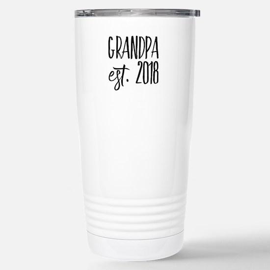 Grandpa Est 2018 Mugs
