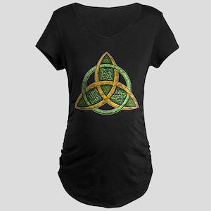 Celtic Trinity Knot Maternity Dark T-Shirt