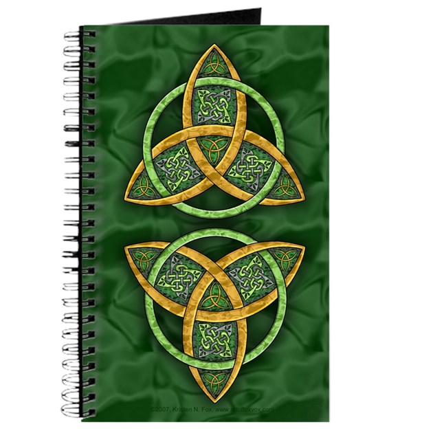 Celtic Trinity Knot Journal by artoffoxvox