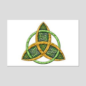Celtic Trinity Knot Mini Poster Print