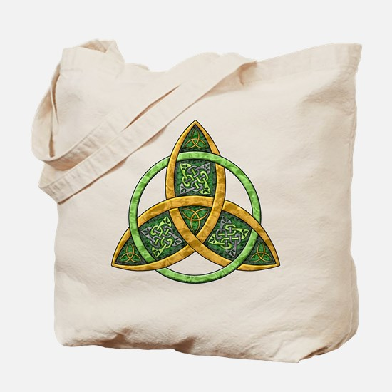 Celtic Trinity Knot Tote Bag